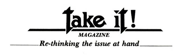 TakeIt! Magazine